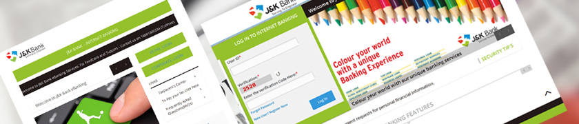 login internet banking jk bank